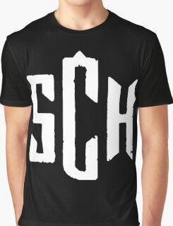 SCH rap white Graphic T-Shirt