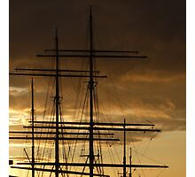 Masts and Rigging, Glasgow Photographic Print