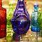 Glass Bottles, Vases and Jars