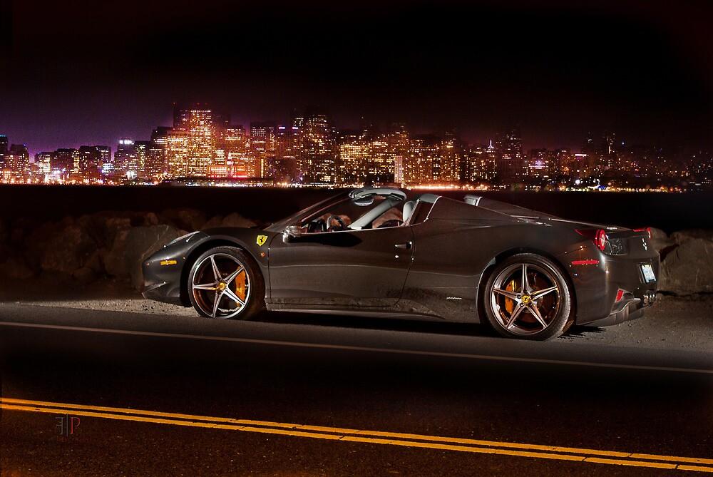 Skyline | Ferrari 458 Spider by Gil Folk