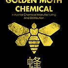 Golden Moth Chemical by drsimonbutler