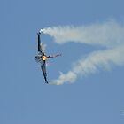 Turkish F16 at Waddington Airshow by Jonathan Cox