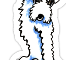 Clingy Sealyham Terrier Sticker