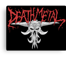 Death Metal Demonic-Skull Canvas Print
