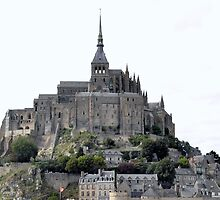 Mont Saint-Michel by lezvee