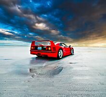 Ferrari F40 | Sunrise by Gil Folk