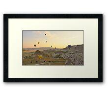 Balloon - Filled Sky   Framed Print