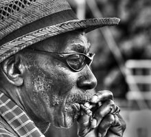 Smoker by Michael  Herrfurth