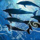 Dolphins & scrolls. by art-ZeST
