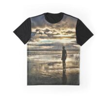 Crosby Beach - Another Place Graphic T-Shirt