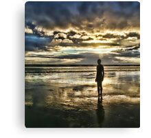 Crosby Beach - Another Place Canvas Print