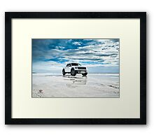 Ford F-150 SVT Raptor | Puddles Framed Print