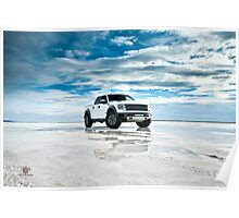 Ford F-150 SVT Raptor | Puddles Poster