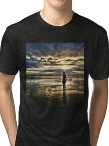 Crosby Beach - Another Place Tri-blend T-Shirt