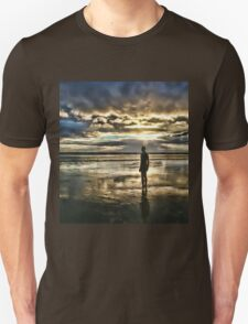 Crosby Beach - Another Place Unisex T-Shirt