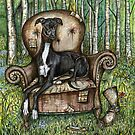 A Little Treasure- A Portrait of Boots by Elle J Wilson