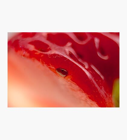 Day 7 - A Strawberry Photographic Print