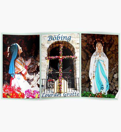 Boebing ~ Lourdes Grotto Poster