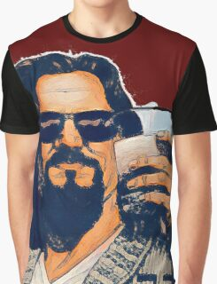 The Dude and the White Russian Graphic T-Shirt
