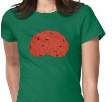 Brain Ant Farm Womens Fitted T-Shirt