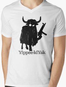 Yippee-kiYak Mens V-Neck T-Shirt