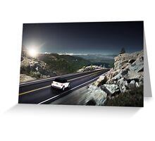 MINI Cooper S | Roads Greeting Card