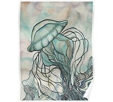Black Lung Jellyfish Poster