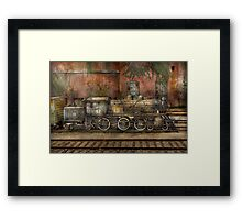 Locomotive - Our old family business Framed Print