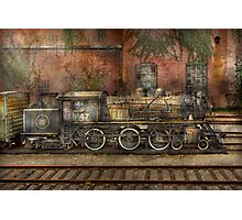 Locomotive - Our old family business Photographic Print