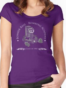 Bomberman Academy Graduation Tee Women's Fitted Scoop T-Shirt