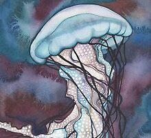 Bold Nettle Jellyfish by Tamara Phillips