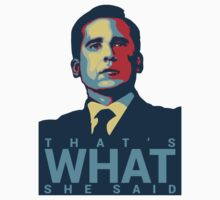 Michael Scott - That's What She Said by Matthew Younatan