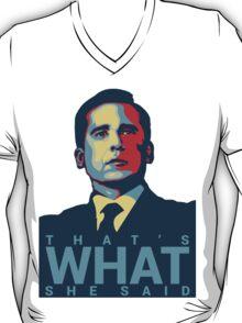 Michael Scott - That's What She Said T-Shirt
