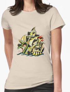 SnakeShip Womens Fitted T-Shirt