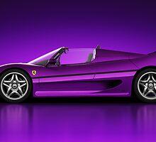 Ferrari F50 - Neon by Marc Orphanos