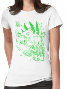Wild Lilymon - Color Ink Womens Fitted T-Shirt