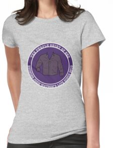 The Purple Shirt Womens Fitted T-Shirt