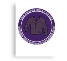 The Purple Shirt Canvas Print