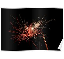 Fourth of July Fireworks 1 Poster