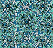 """pattern craziness 1"" by ShaneThompson"