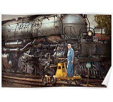 Locomotive - The gandy dancer  Poster
