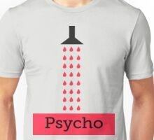 Minimal Psycho Print Unisex T-Shirt