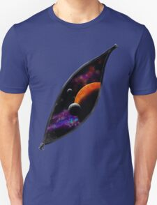 Zippered Galaxy T-Shirt