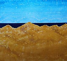 Manila Dunes original painting by CrowRisingMedia