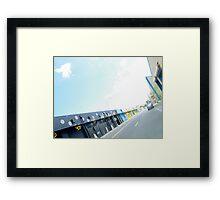 kaka`ako perspective Framed Print
