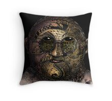 Huka man Throw Pillow