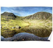 Pavey Ark & Harrison Stickle Poster