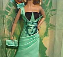 Barbie's Tribute to the Statue of Liberty by Jane Neill-Hancock