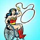 Wonder Woman in a Wheelchair by Tatiana  Gill