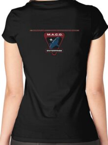 MACO: Military Assault Command Ops Women's Fitted Scoop T-Shirt